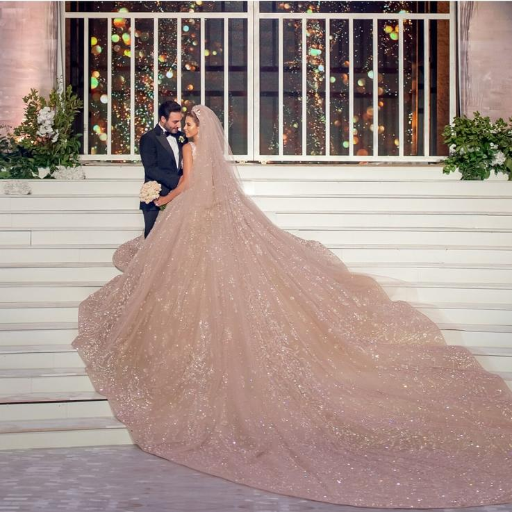 Inside The Wedding Of Serena Mamlouk and Anthony Aour