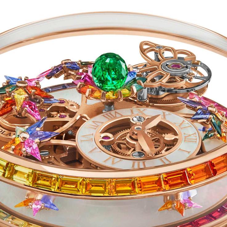 Jacob & Co's Astronomia Fleurs de Jardin Timepiece Proves It's Time For Colour