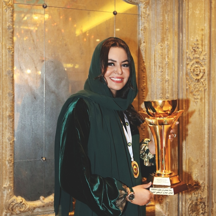 Saudi Arabia's First Female Olympic Athlete On Striving For Success | Bazaar Belief