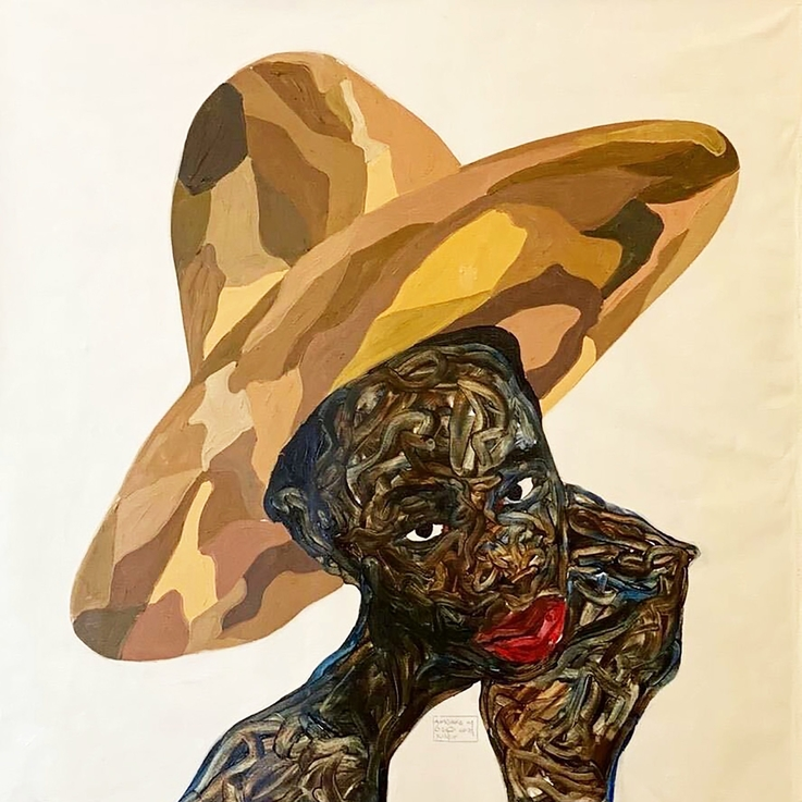 Amoako Boafo's New Works Explore Self-Reflection In A Time Of Crisis