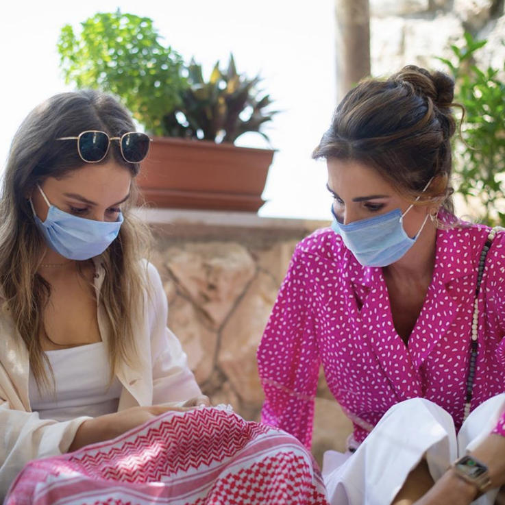 Queen Rania and Princess Iman Spent The Day Out At Beit Al Baraka