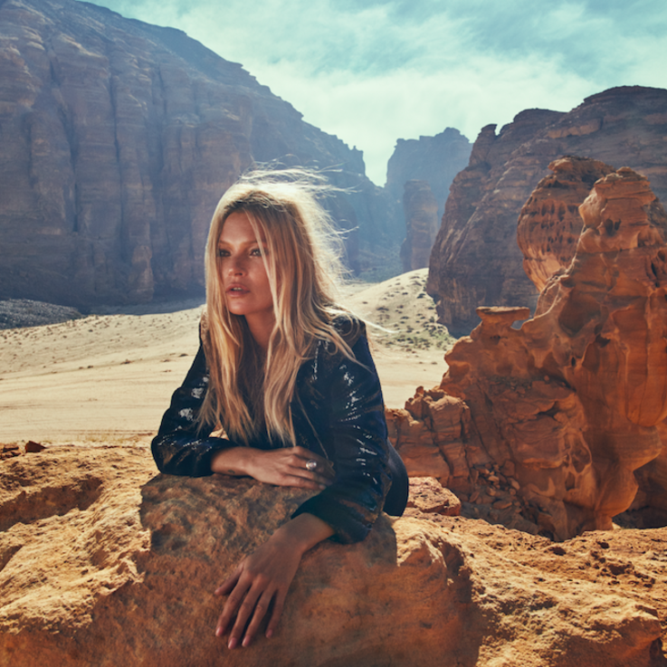 From Saudi With Love: Kate Moss, Jourdan Dunn and Other Supermodels Star In Mônot's New Campaign