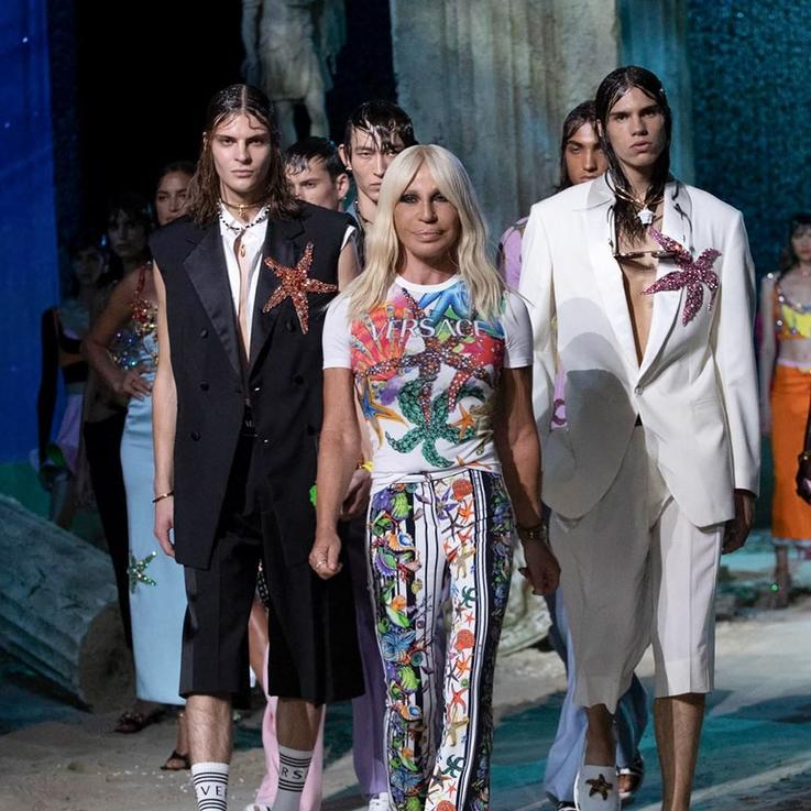Weekend Highlights From Milan's Masked And Socially Distanced Fashion Shows