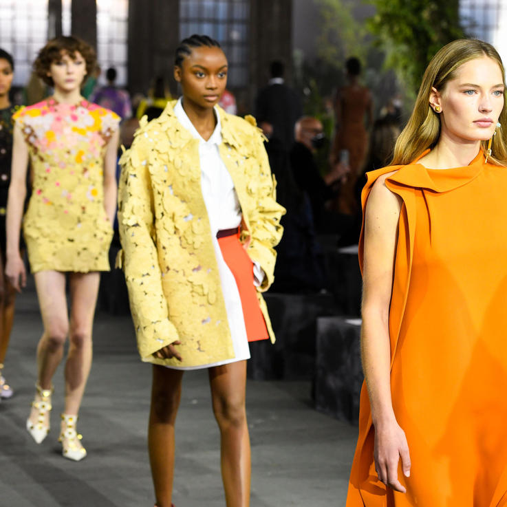 Last Day of Milan Fashion Week: Valentino Seduces With A Romantic Revolution And A Heartfelt Tribute To Lebanon