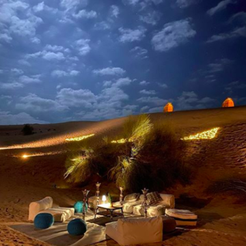 Experience One Thousand And One Nights At Sonara Camp