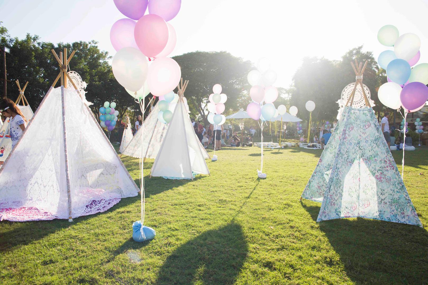 Children's Party Inspiration: 'Threechella'