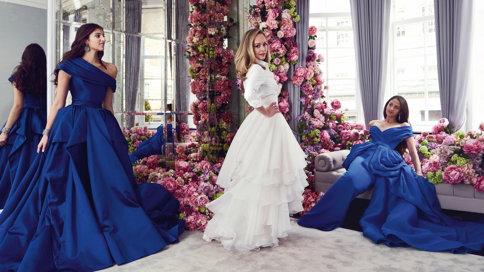 From Classroom To Couture: Kareen And Natalia Fares