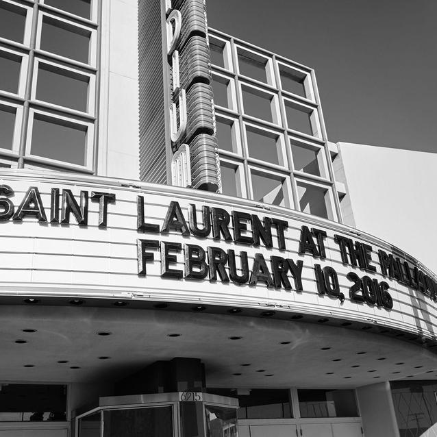 Saint Laurent's Night At The Palladium