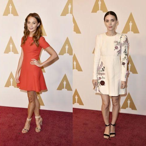 The Top Looks From The Annual Oscar Nominees Luncheon
