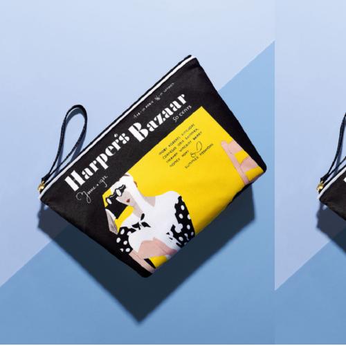 Estée Lauder Honours Iconic Bazaar Covers With Limited Edition Bags