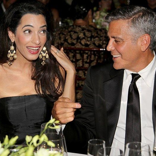 George and Amal Clooney Want To Have You Over For Dinner