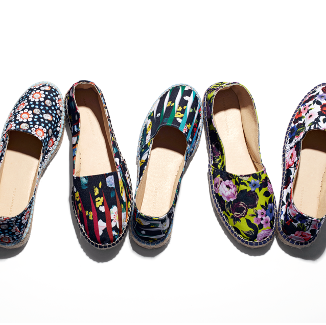 Exclusive: Level Shoe District To Release Esapdrille Collection With Mary Katrantzou And All Things Mochi