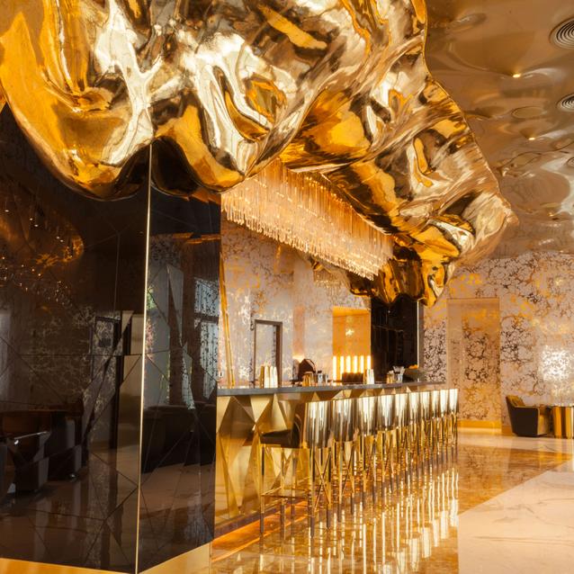 Go For Gold: Burj Al Arab's Decadent New Bar