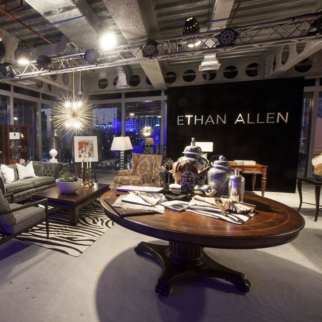 Ethan Allen Teams Up With Regional Artists To Re-Create Iconic Pieces