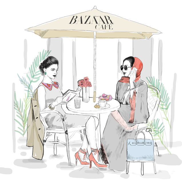 World First: Harper's Bazaar Café Opens In Dubai