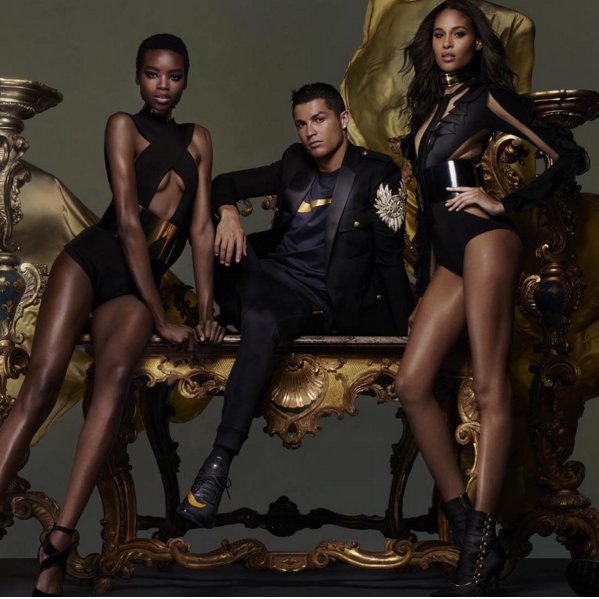 Balmain's Olivier Rousteing Teams Up With Nike