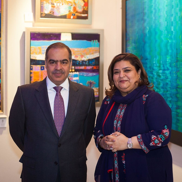 Bahrain Art Across Borders Opens In London