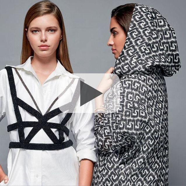 Watch Now: Young Saudi Designer Nora Al Shaikh's Autumn/Winter 2016 Collection Unveiled