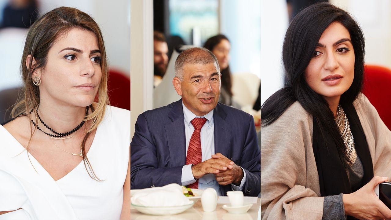Middle Eastern Fashion Designers Meet Their Mentor