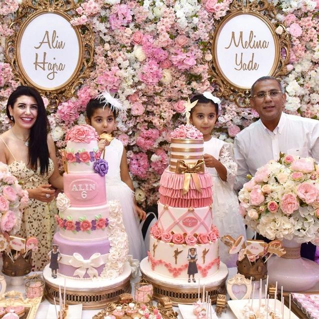 Inside Adorable Dubai Twins' Fairy Tale Princess Party