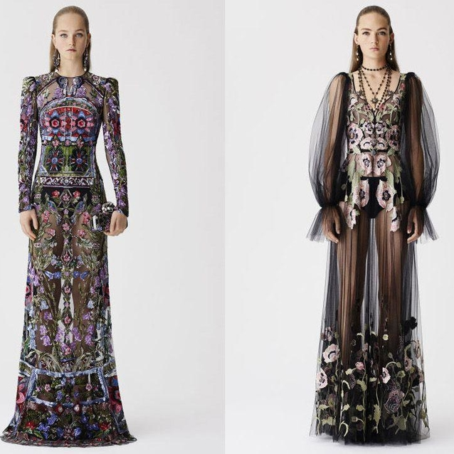 Alexander McQueen Resort Has Landed And Yes, It's Beautiful