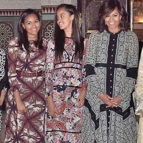 Michelle Obama Rocks Altuzarra In Morocco