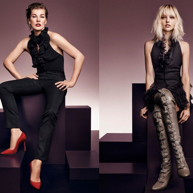Jimmy Choo Taps Top Models For A/W16 Campaign