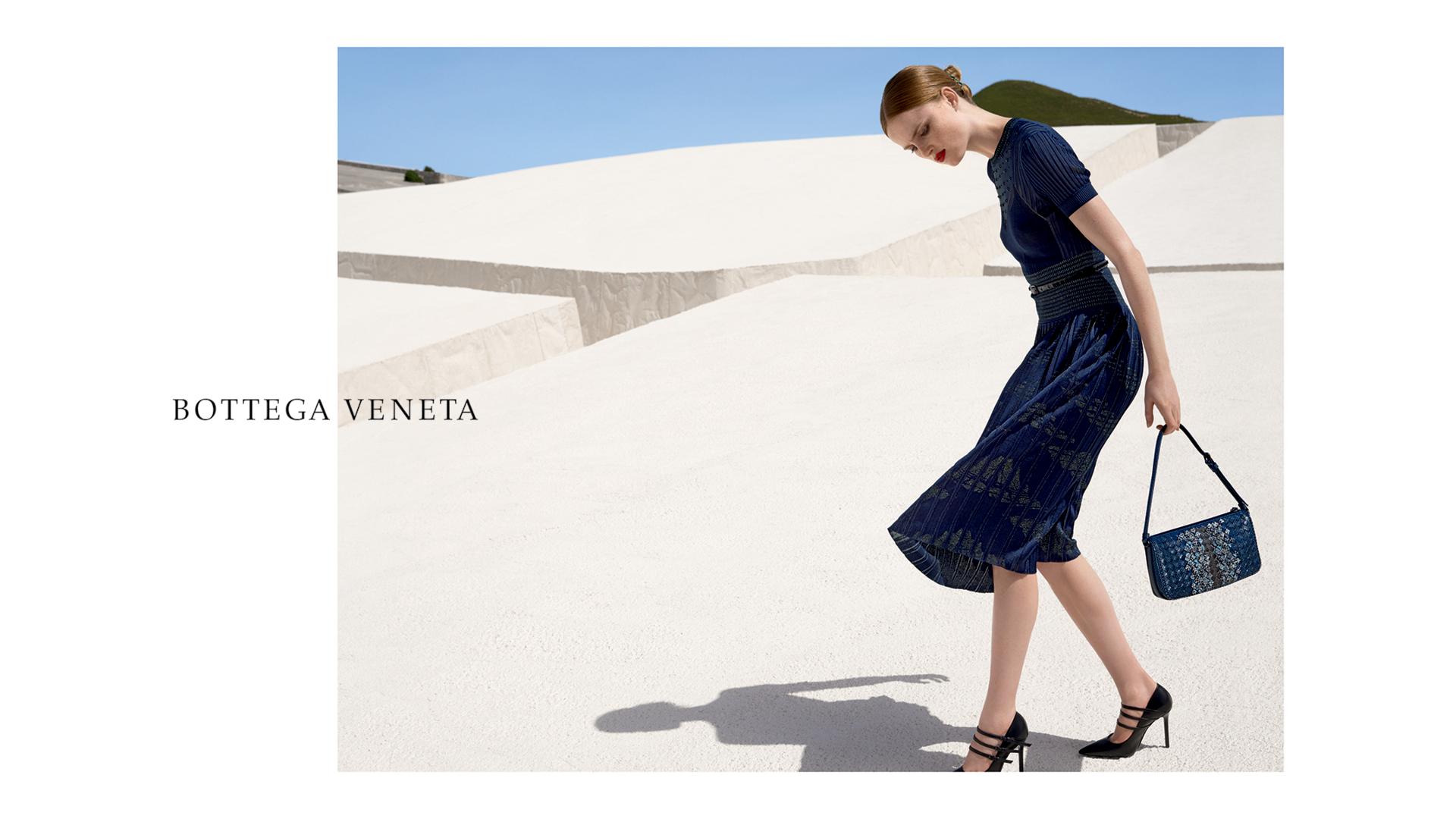 Bottega Veneta Collaborates with Viviane Sassen and Alberto Burri