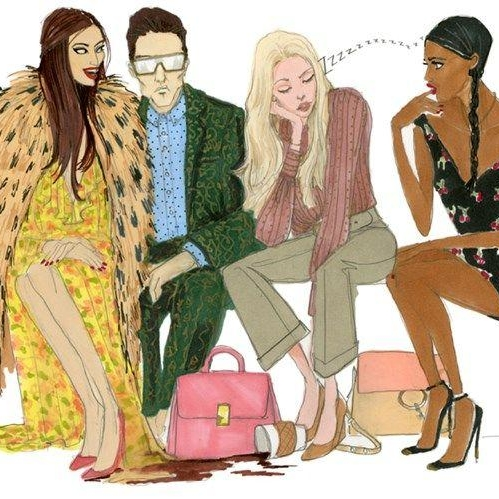 Your Illustrated Guide To Fashion Week