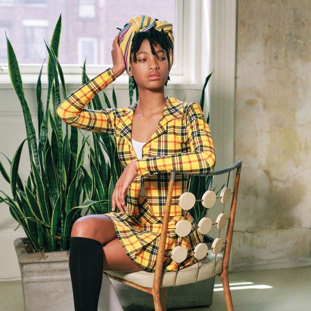 Willow Smith Channels 'Clueless' For The CR Fashion Book