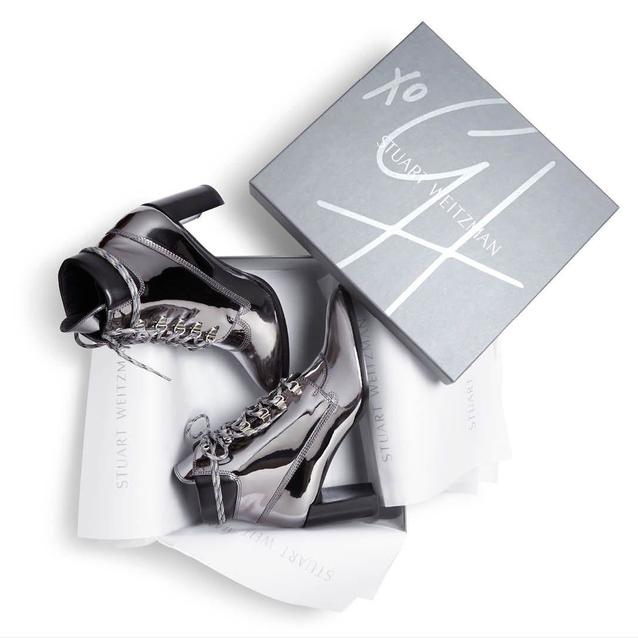 Gigi Hadid's Shoe Collaboration With Stuart Weitzman Is Revealed