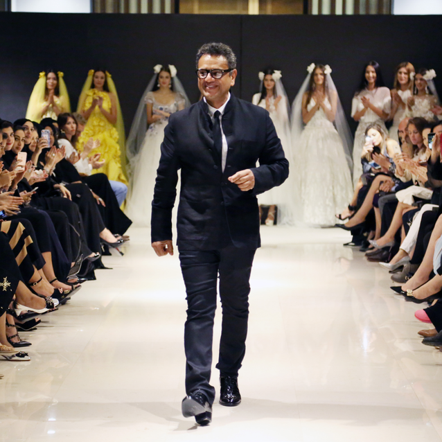 Exclusive: Naeem Khan Chats With Bazaar In Qatar