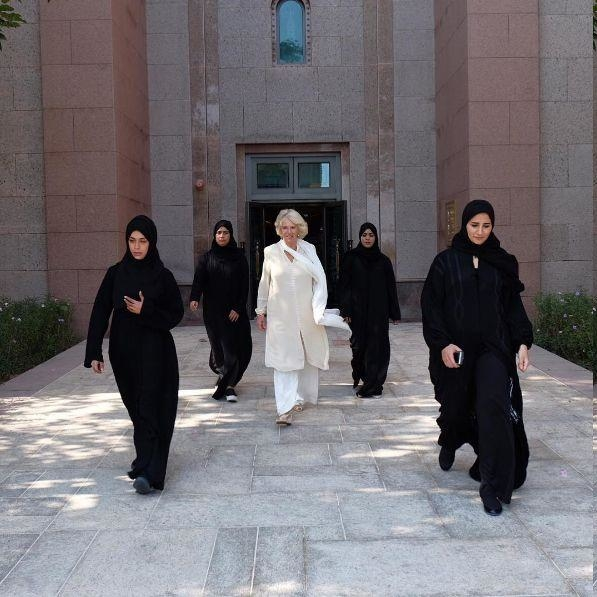 This Extraordinary Image Of Camilla Parker-Bowles And Her All-Female Guard Has The World Talking