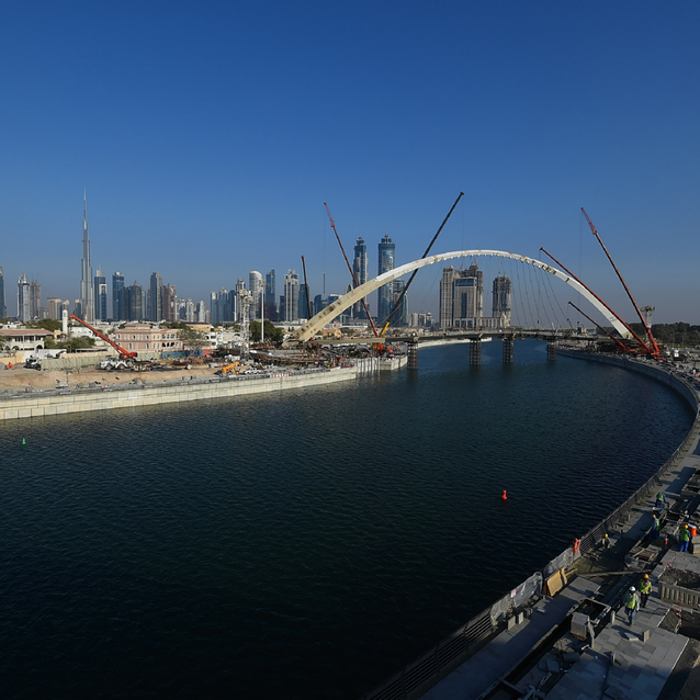The Dubai Water Canal Is Opening Tonight