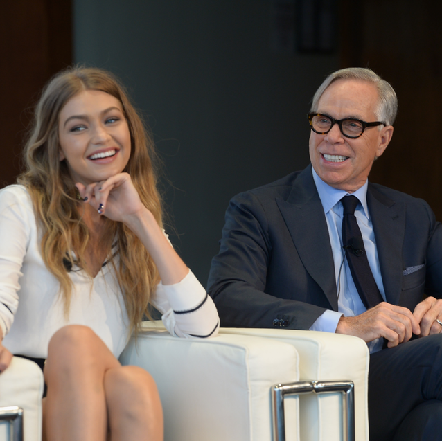 Gigi Hadid Defends Tommy Hilfiger's Comments About Putting Her In A Poncho