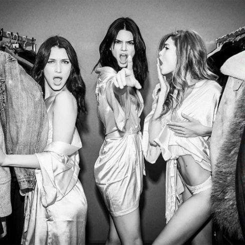 Backstage: The Best Instagrams From The Victoria's Secret Fashion Show