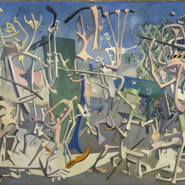 Egyptian Surrealism At The Centre Pompidou