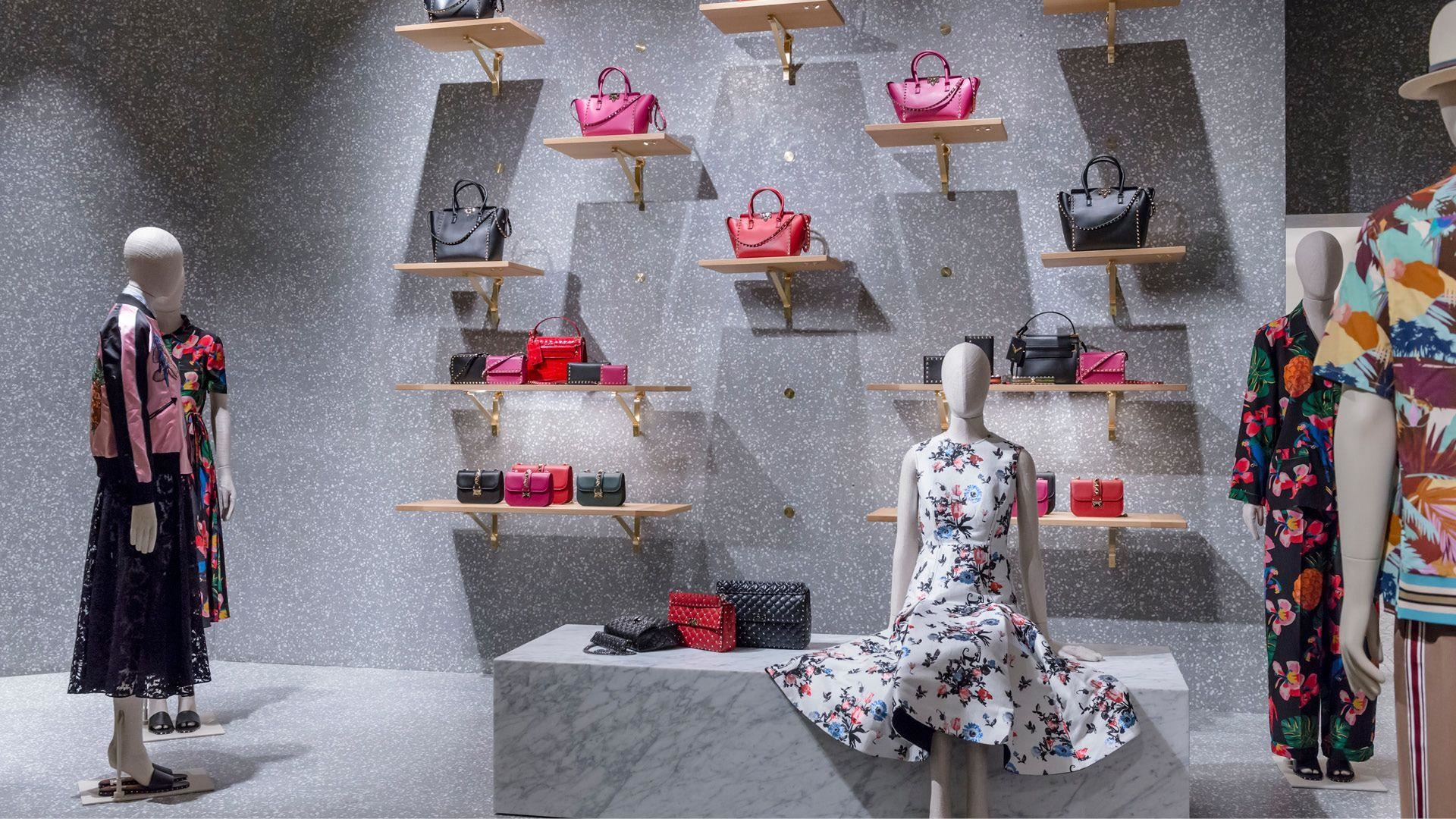 Valentino Opens A New Boutique In The Mall Of Qatar