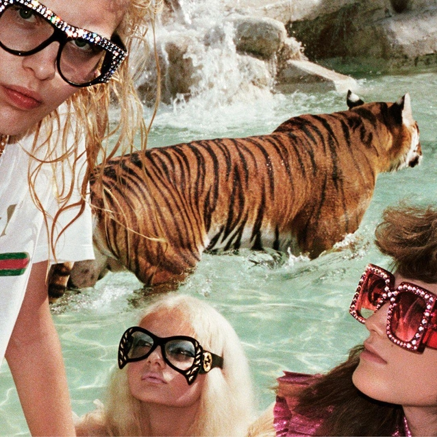 Gucci Gets Wild For Its Spring/Summer 2017 Campaign