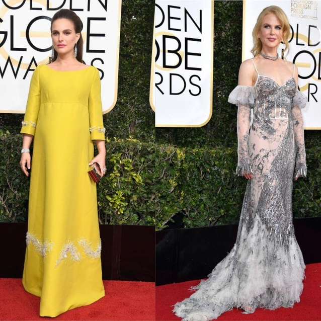 The Best Dressed On The Golden Globes Red Carpet