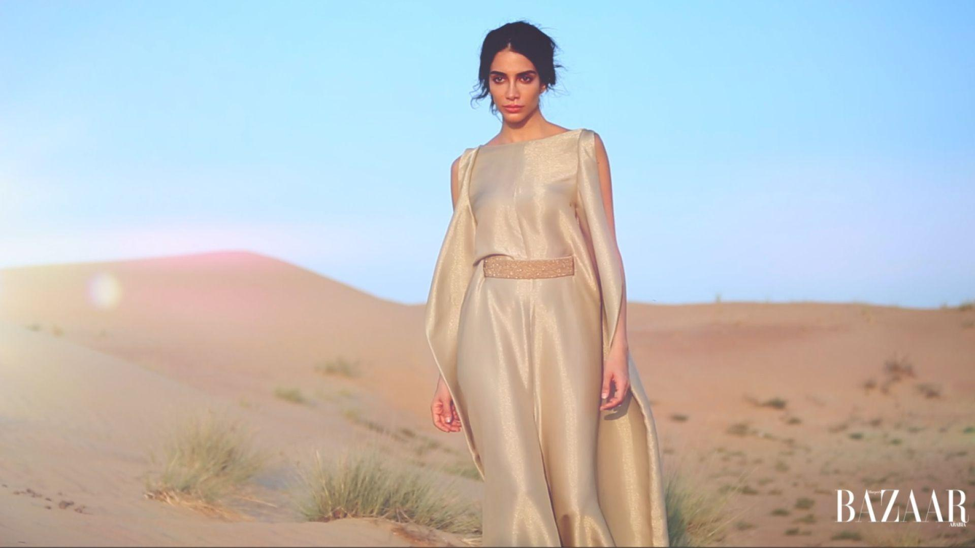 Watch Now: Go Behind-The-Scenes On Our January Issue Cover Shoot With Jessica Kahawaty