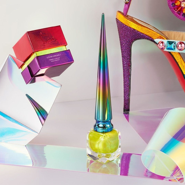 Christian Louboutin Beauty Launches Chrome Collection