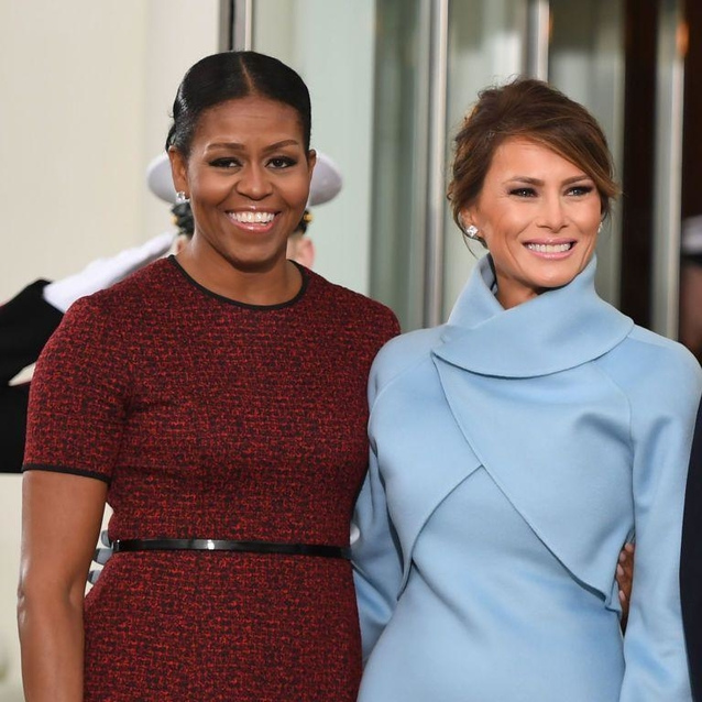 The Story Behind Melania Trump And Michelle Obama's Inauguration Dresses