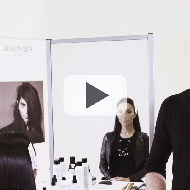 How To Do: The Sleek Hair Look With Balmain Hair Couture And Blowout&Go