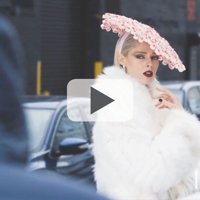 Watch Now: Go Behind-The-Scenes On Our February Issue Cover Shoot With Coco Rocha