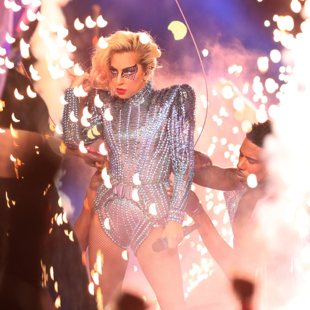 Every Look Lady Gaga Wore To Perform At The 2017 Super Bowl Halftime Show