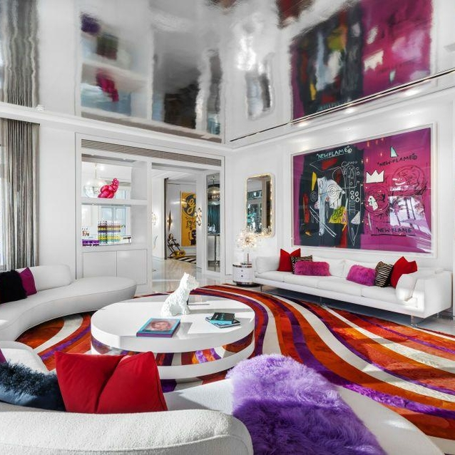 Inside Tommy Hilfiger's Dhs100 Million Colourful Miami Estate