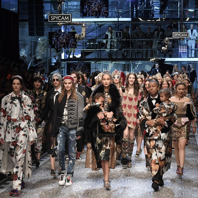 Everything You Need To Know About The Dolce & Gabbana A/W17 Show