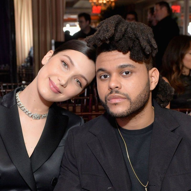 Bella Hadid and The Weeknd Come Face To Face On The H&M Runway