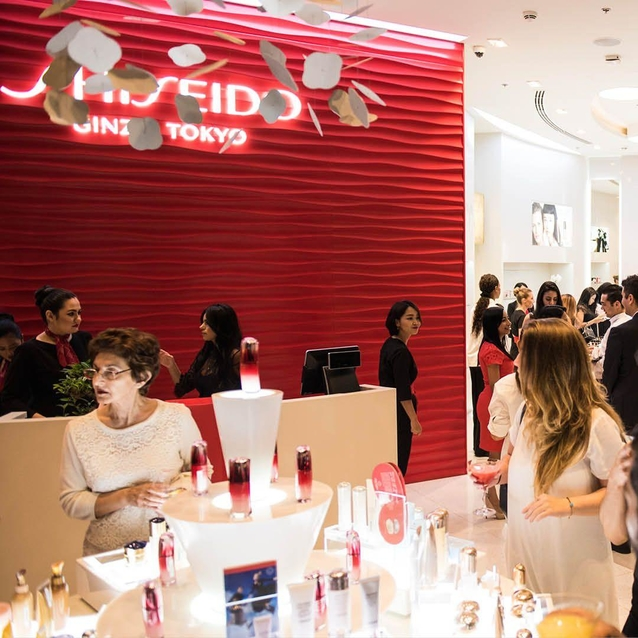 Shiseido Opens Its First Beauty Boutique In Dubai